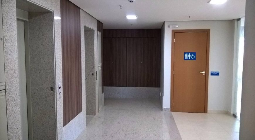 Rua 12 Norte, Águas Claras Espetacular! Sala Com Mezanino 131,98 m² 2 Vagas